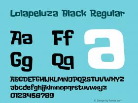 Lolapeluza Black