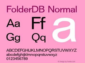 FolderDB