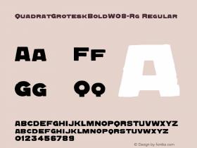 QuadratGroteskBold-Rg