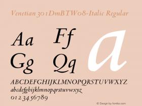 Venetian301DmBT-Italic