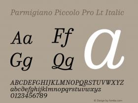 Parmigiano Piccolo Pro Lt