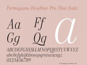 Parmigiano Headline Pro Thin
