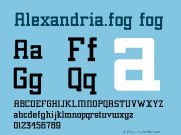 Alexandria.fog