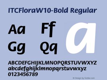ITCFlora-Bold