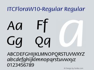ITCFlora-Regular