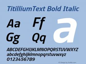 TitilliumText