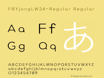 FBYjongL-Regular