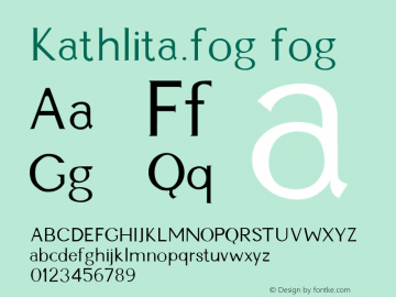 Kathlita.fog