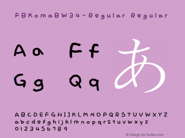FBKomaB-Regular