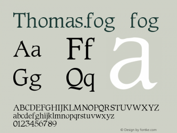 Thomas.fog