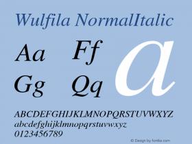 Wulfila