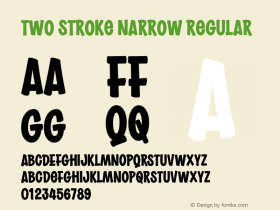 Two Stroke Narrow