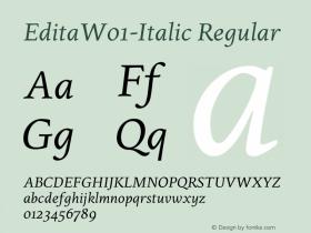 Edita-Italic