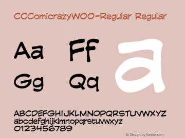 CCComicrazy-Regular