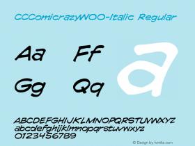 CCComicrazy-Italic