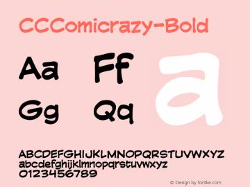 CCComicrazy-Bold