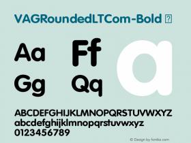 VAGRoundedLTCom-Bold