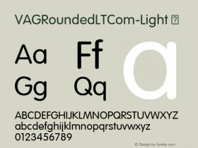 VAGRoundedLTCom-Light