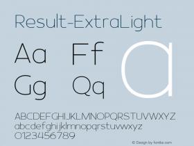 Result-ExtraLight