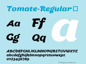 Tomate-Regular