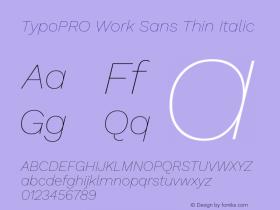 TypoPRO Work Sans