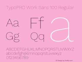 TypoPRO Work Sans 100
