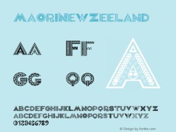 MaoriNewZeeland