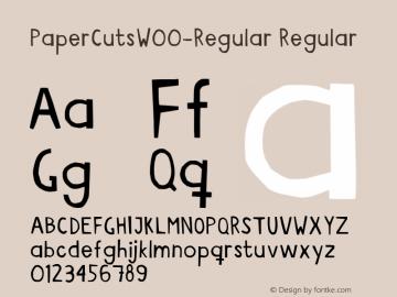 PaperCuts-Regular