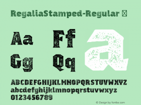 RegaliaStamped-Regular