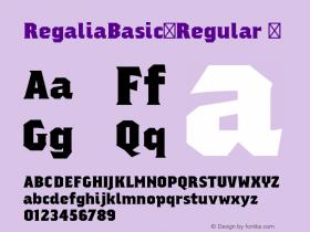 RegaliaBasic-Regular