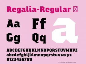 Regalia-Regular