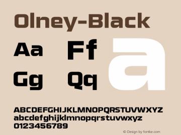 Olney-Black