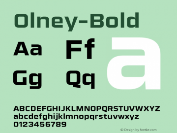 Olney-Bold