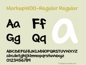 Markup-Regular