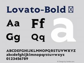 Lovato-Bold