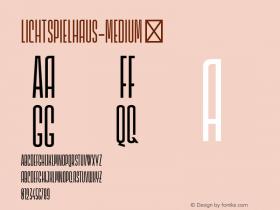Lichtspielhaus-Medium
