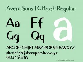 Avera Sans TC Brush