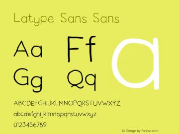 Latype Sans