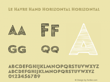 Le Havre Hand Horizontal