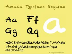 Aurada Typeface