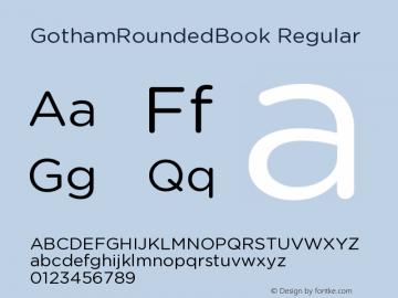 GothamRoundedBook