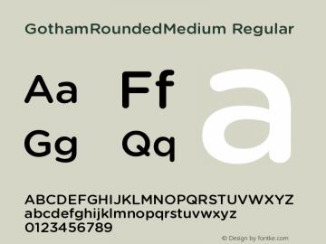 GothamRoundedMedium