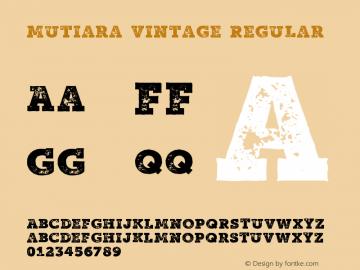 Mutiara Vintage