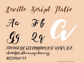 Levitte Script