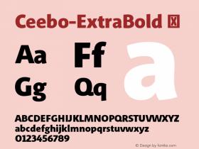 Ceebo-ExtraBold