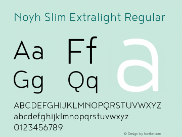 Noyh Slim Extralight
