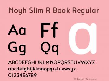 Noyh Slim R Book
