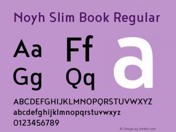 Noyh Slim Book