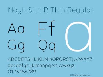 Noyh Slim R Thin