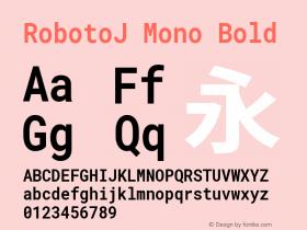 RobotoJ Mono